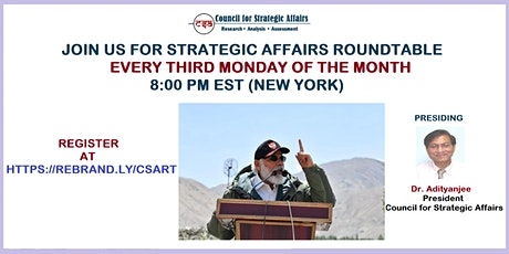 Strategic Affairs Monthly Roundtable tickets