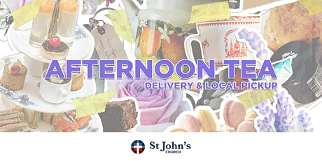Afternoon Tea - Delivery and Local Pickup tickets