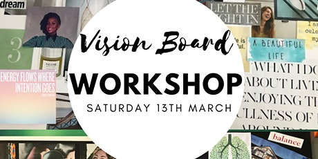 "Online ""Design Your Ideal Life"" Vision Board Workshop tickets"
