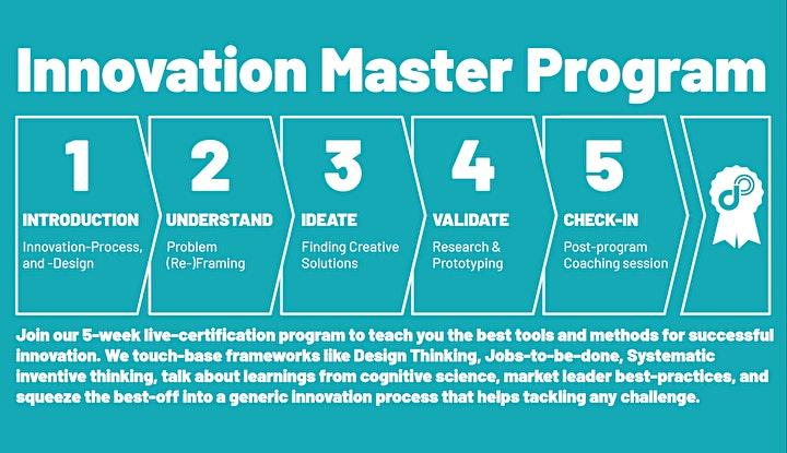 Validating ideas (2h, online) image