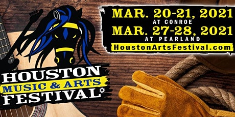 2021 Houston Music & Arts Festival at Conroe tickets