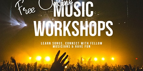 Free Online Kids Band Workshop tickets