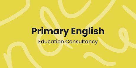 English Subject Leaders (twilight session) - Zoom Webinar billets