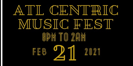 1st Official  ATLCentric Music Fest tickets
