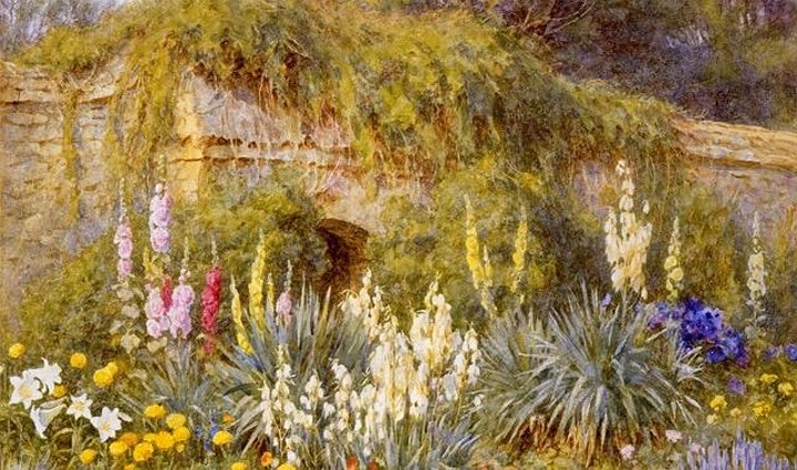 The Golden Afternoon Of Gardens And Artists image