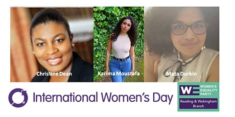 International Women's Day 2021 - Reading and Wokingham tickets
