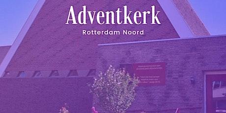 Kerkdienst Adventkerk Rotterdam Noord tickets