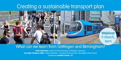 Creating a sustainable transport plan tickets