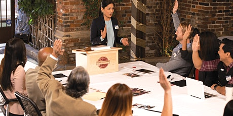Improve Your Communication and Leadership Skills | 7AM Toastmasters Meeting tickets