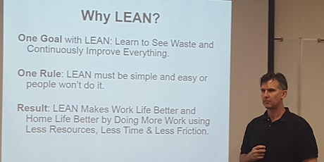 Live No Cost LEAN Certification for Veterans in San Marcos 03/14/2021 9-3pm tickets