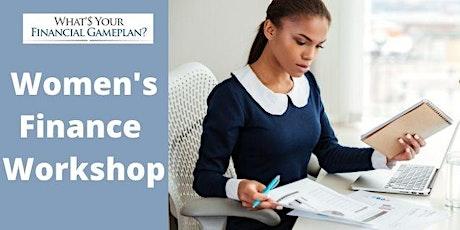 WOMENS FINANCE WORKSHOP tickets