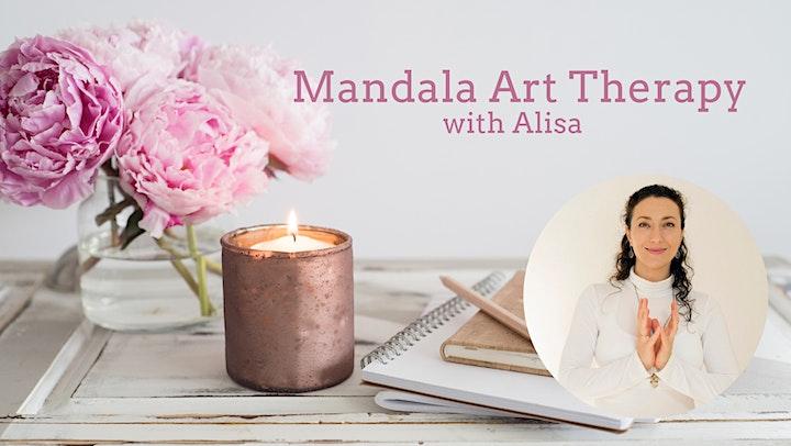 Mandala Art Therapy online: Bild