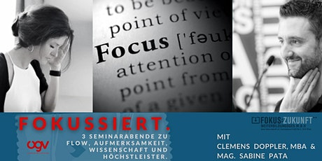 Live Online Seminar / Fokussieren & in den Flow kommen Tickets