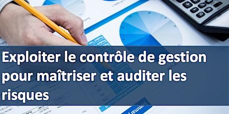 Formation Contrôle de gestion pour maîtriser et auditer les risques billets