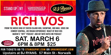 Unhinged Comedy presents: Rich Vos tickets