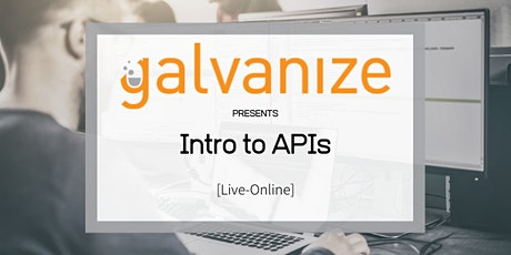 Intro to APIs [Live-Online] tickets