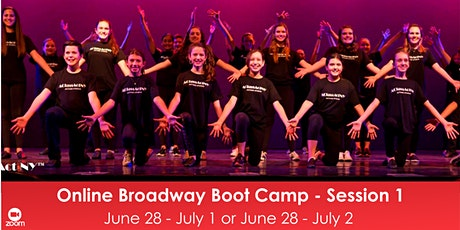 Online Broadway Boot Camp - Session 1 tickets