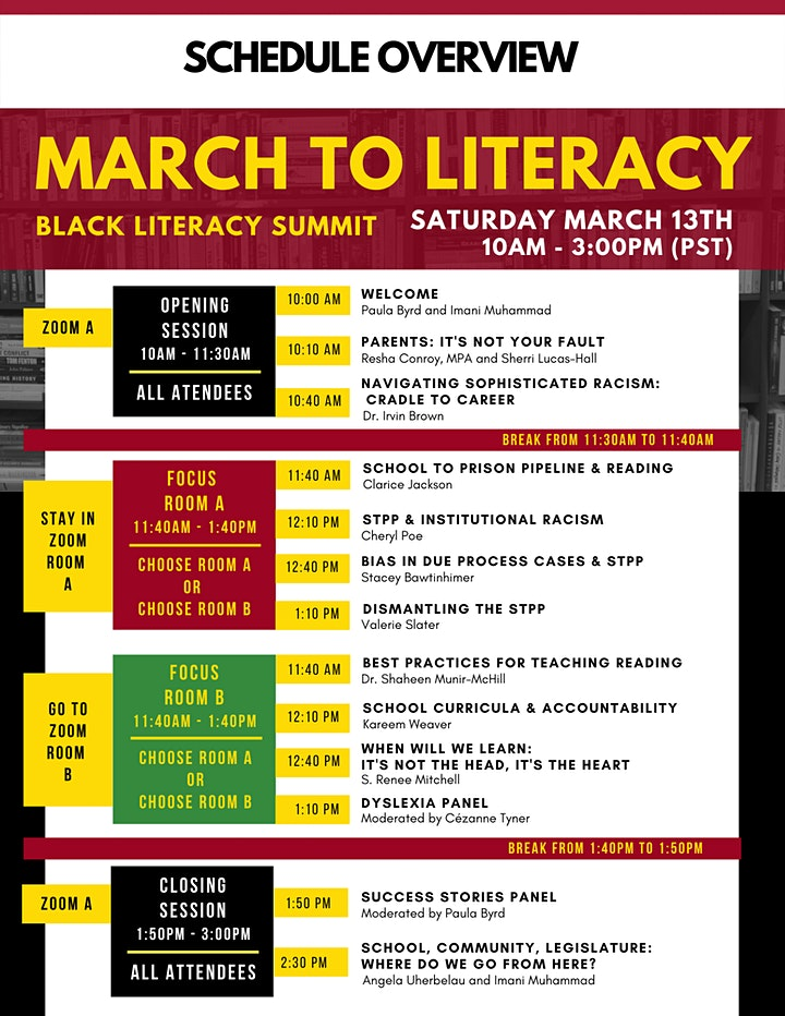 MARCH TO LITERACY image