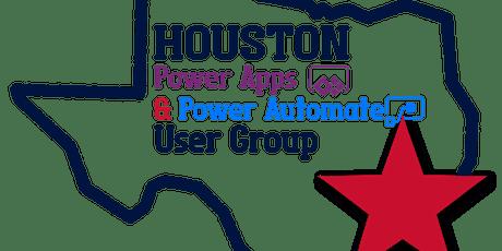 Houston Power Platform UG Feb 2021 Meeting entradas
