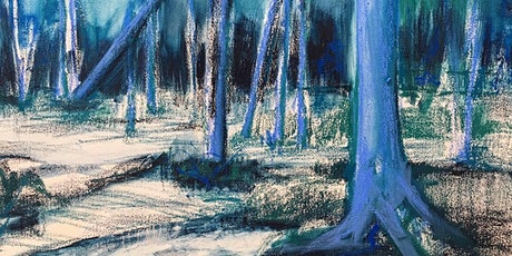 Exploring expressive landscape drawing through oil stick/oil pastel. tickets