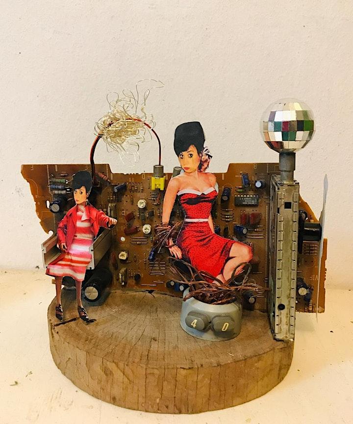 Imagen de Carla Facciorusso presenta Mono de Metal en Abasto Abierto
