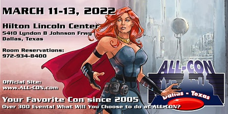 ALL-CON 2022: Vendors (booths, badges, power, promotions, services, etc.) tickets