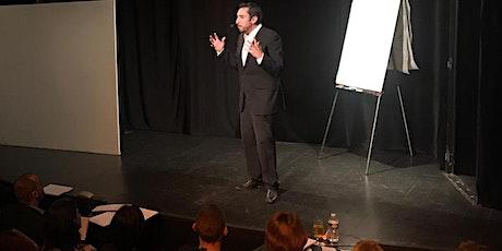 MASTERCLASS avec Cédric Copy - Stage d'éloquence et de débat (distanciel). billets
