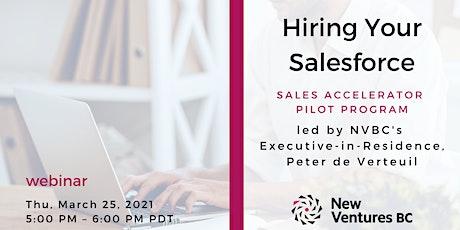 Hiring Your Salesforce biglietti