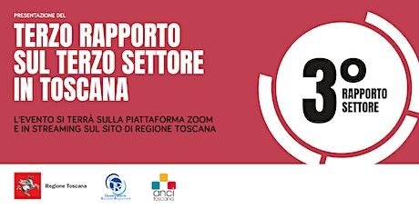 3° Rapporto sul Terzo settore in Toscana biglietti