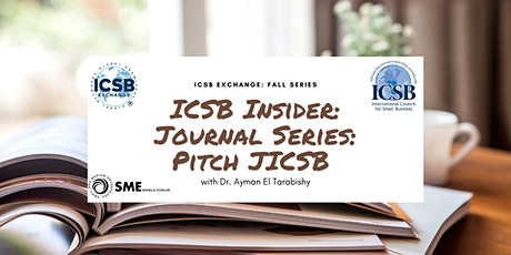 Journal Series: Pitch JICSB: February tickets