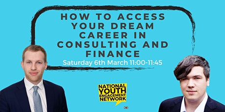 How to Access Your Dream Career in Finance/Consulting tickets
