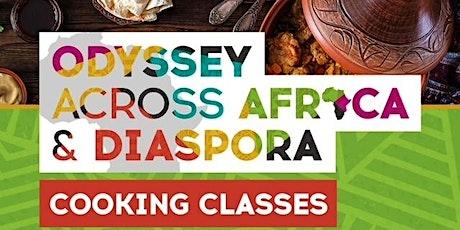 """Yoruba Cuisine"""" with chef Yettie - Odyssey Across Africa & Diaspora tickets"""