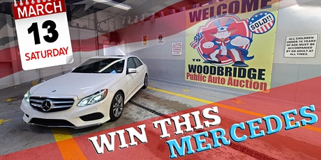 AUCTION & MERCEDES GIVEAWAY tickets