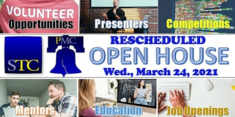 RESCHEDULED STC-PMC Virtual Open House 2021 tickets
