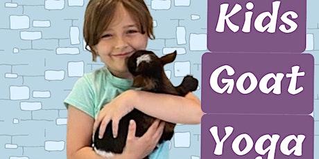 Kids Goat Yoga tickets