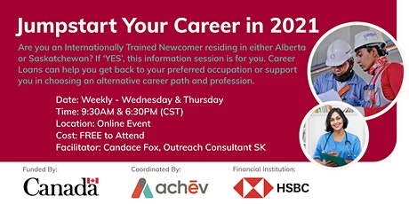 Jumpstart Your Career in 2021 tickets