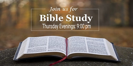 Thursday Night Bible Study tickets