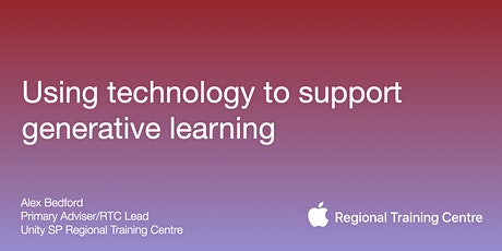 Using technology to support generative learning tickets