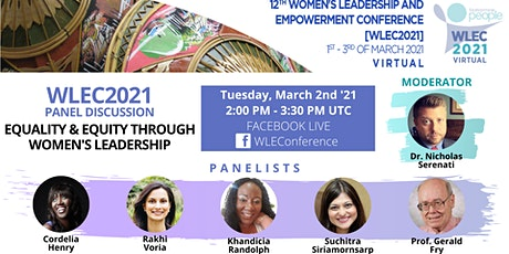Panel discussion: Equity and Equality Through Women's Leadership tickets