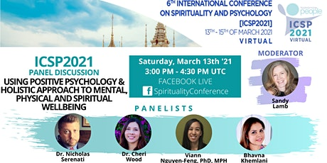 Positive Psychology & Holistic Approach to Mental and Spiritual Wellbeing tickets