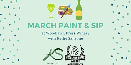 March Paint & Sip tickets
