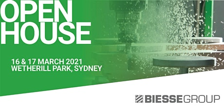 Biesse Sydney Open House tickets