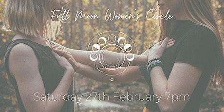 Full Moon Women's Circle February tickets
