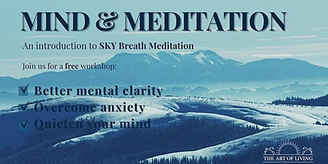 Mind and Meditation - Online Breath and Meditation Session tickets