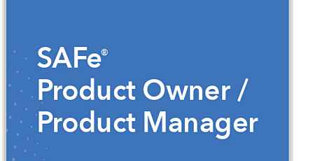 SAFe Product Manager/Product Owner 5.0 with POPM Certification -Online tickets