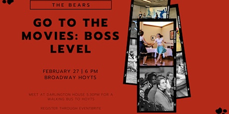 The Bears Go To The Movies: Boss Level tickets