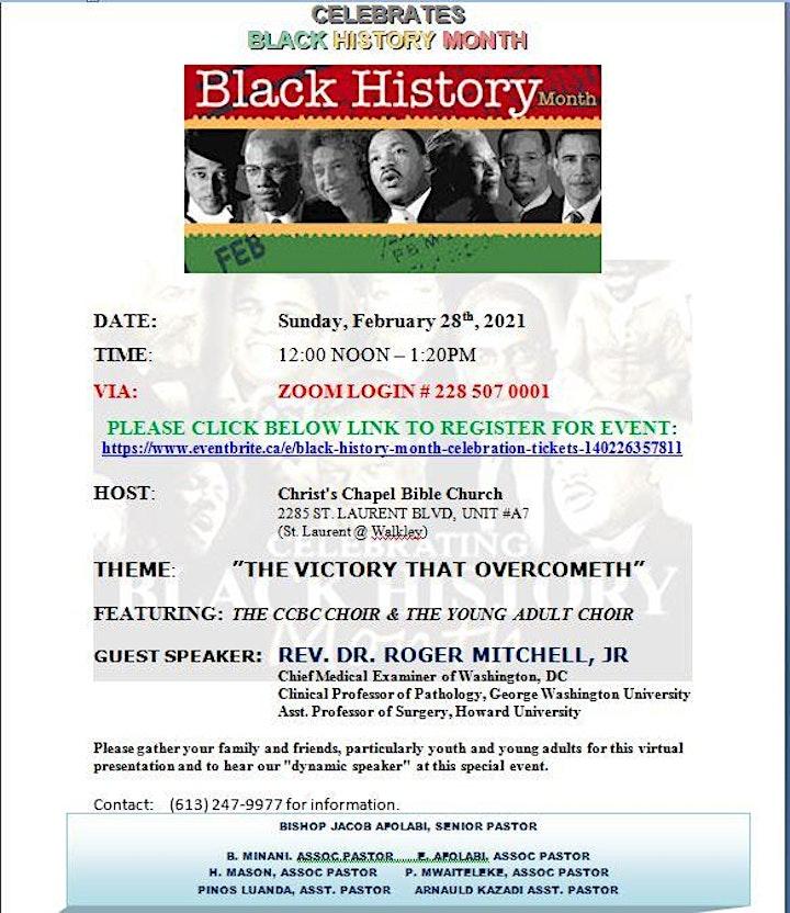 Black History Month Celebration image
