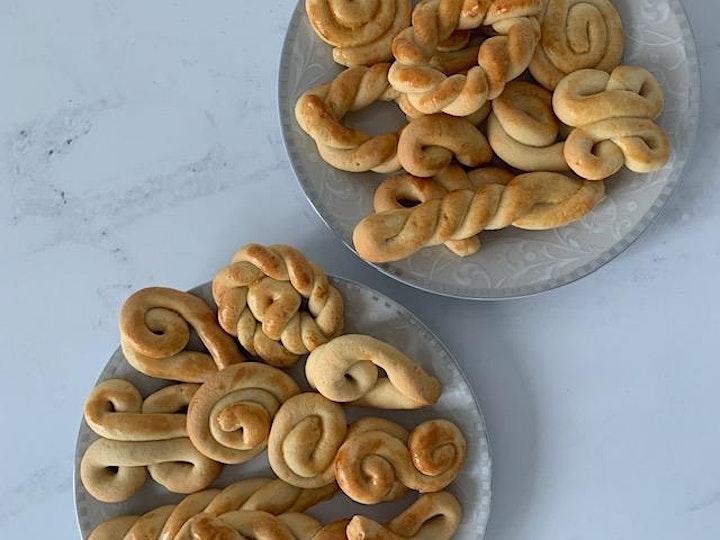 Greek Easter Biscuit Baking Online image