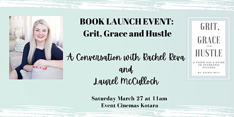 Grit, Grace and Hustle: Book Launch tickets