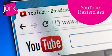 YouTube Masterclass - 1 x CPD point (webinar) Tickets